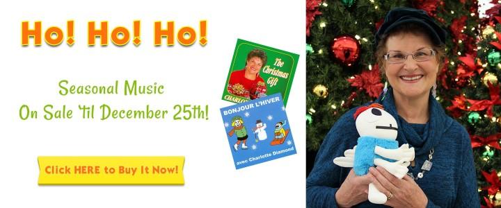 Ho! Ho! Ho! Seasonal Music on Sale 'Til December 25th! Click here to buy now!