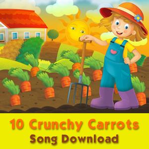 10 Crunchy Carrots (Vocal) Song Download [Image © honeyflavour - Fotolia.com]