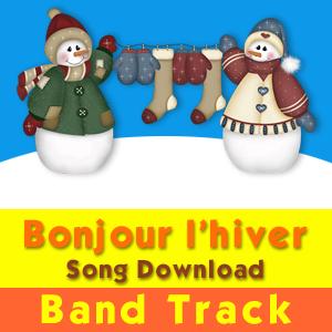 Bonjour l'hiver Band Track Song Download
